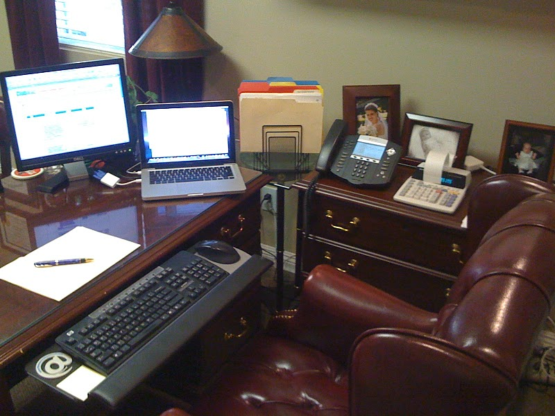 An Ordinary Pastor's Study